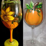 wine glass painting in new jersey