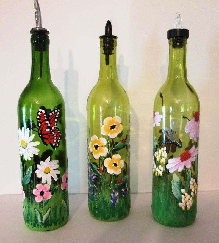 Glass Bottle Painting in New Jersey