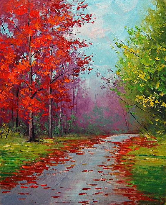 Fall Colors Paint Fun Studio